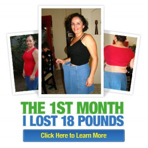 I LOST 18LBS THE FIRST MONTH